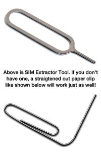 sim extractor paper clip